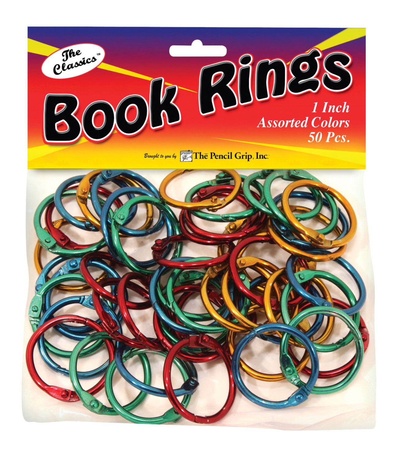 The Pencil Grip Book Ring, Assorted - SOAR Life Products