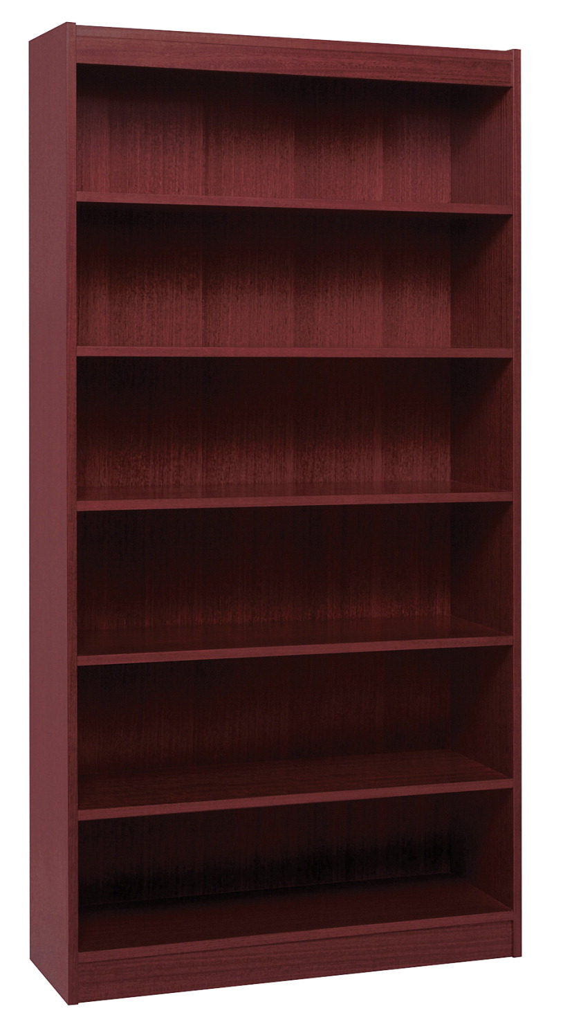 Classroom Select Bookcase, 6 Shelves, 36 x 12 x 72 Inches, Wood Veneer, Various Options