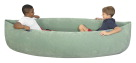 Abilitations Giant Pea Pod XL - 80 inches - Green