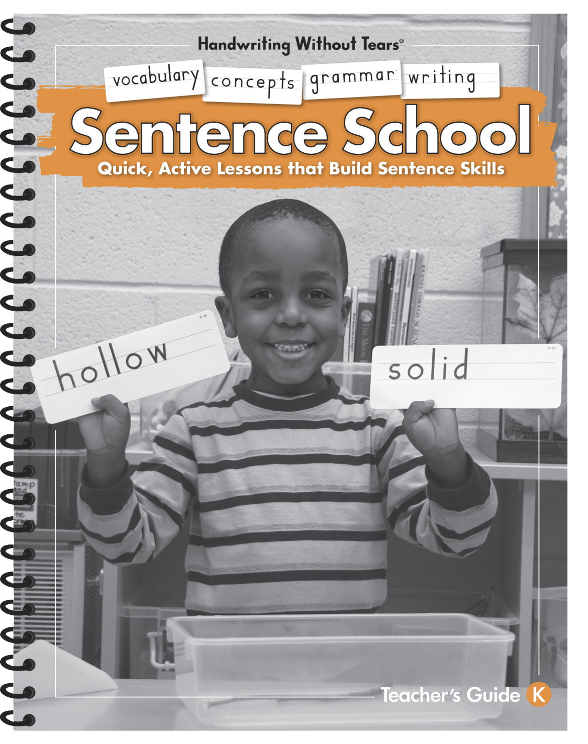 Handwriting Without Tears Sentence School Writing Book, Grade K