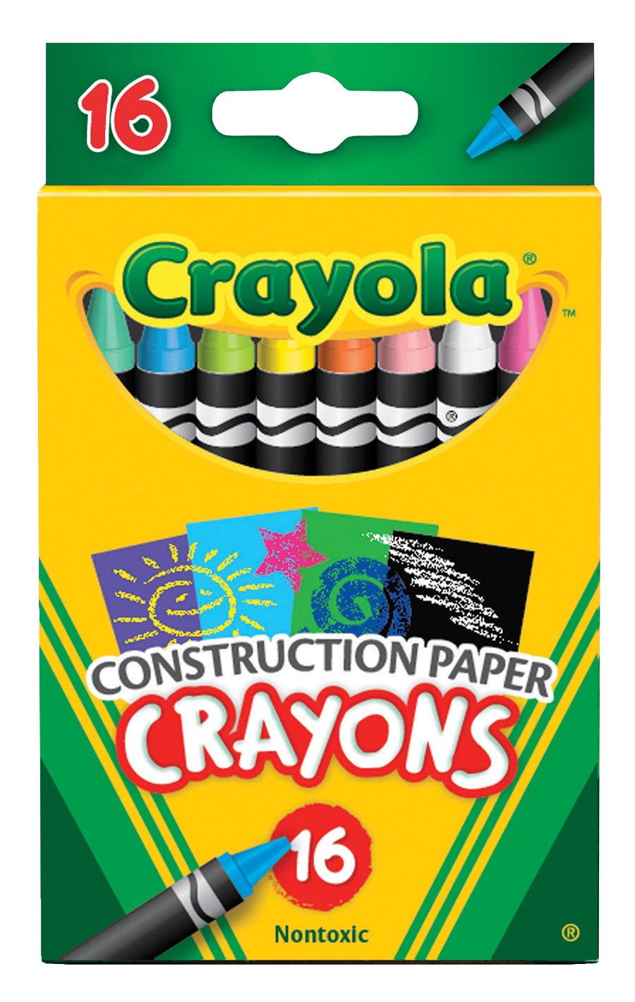 Crayola Construction Paper Crayons
