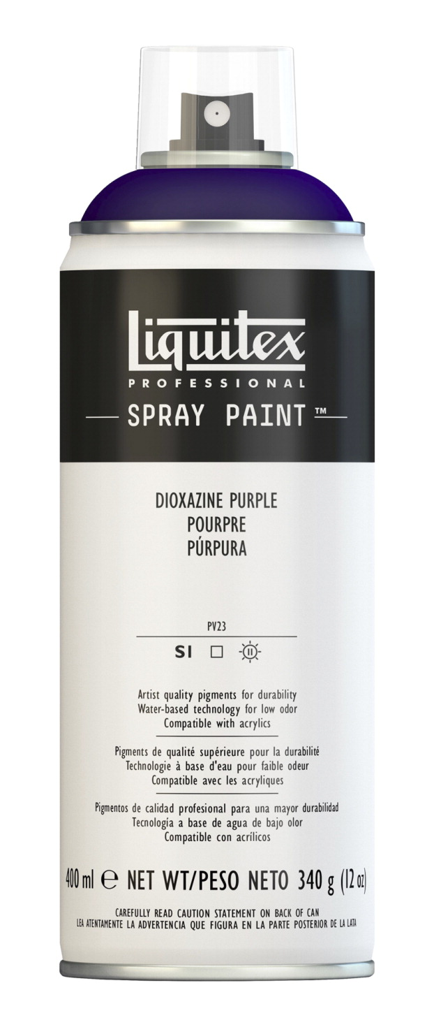 Liquitex Water Based Professional Spray Paint Dioxazine Purple School Specialty Marketplace
