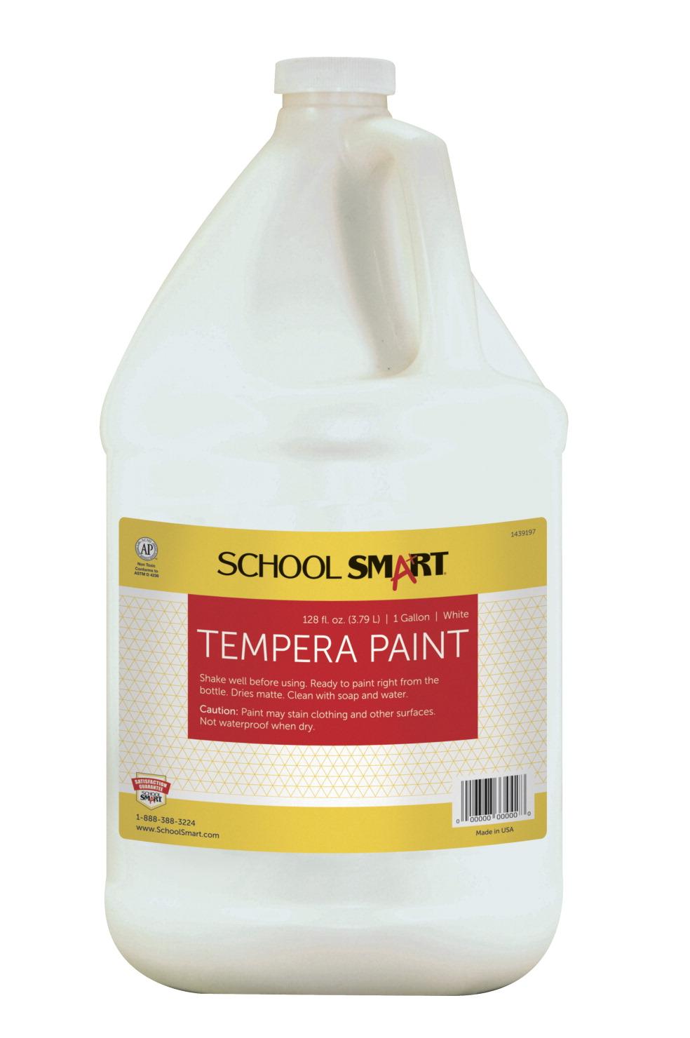 school smart tempera paint white school specialty. Black Bedroom Furniture Sets. Home Design Ideas