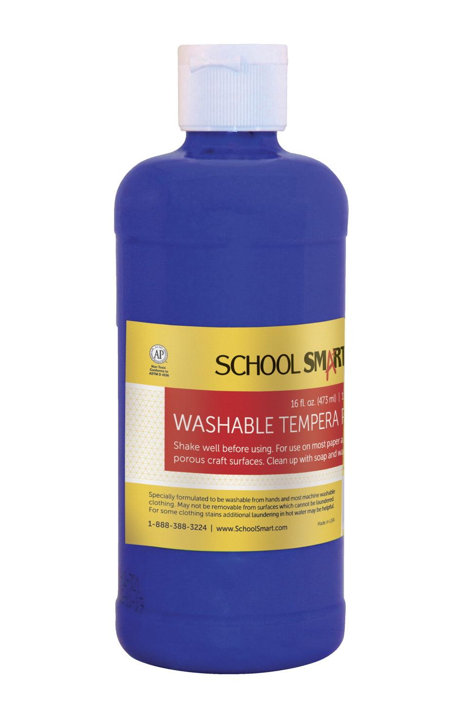 school smart tempera paint blue school specialty canada. Black Bedroom Furniture Sets. Home Design Ideas