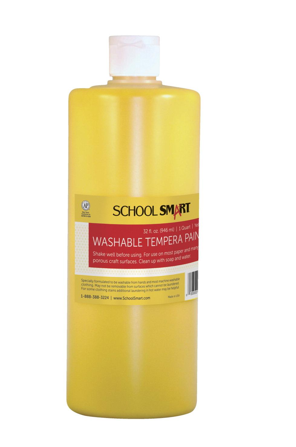 school smart tempera paint yellow classroom direct. Black Bedroom Furniture Sets. Home Design Ideas