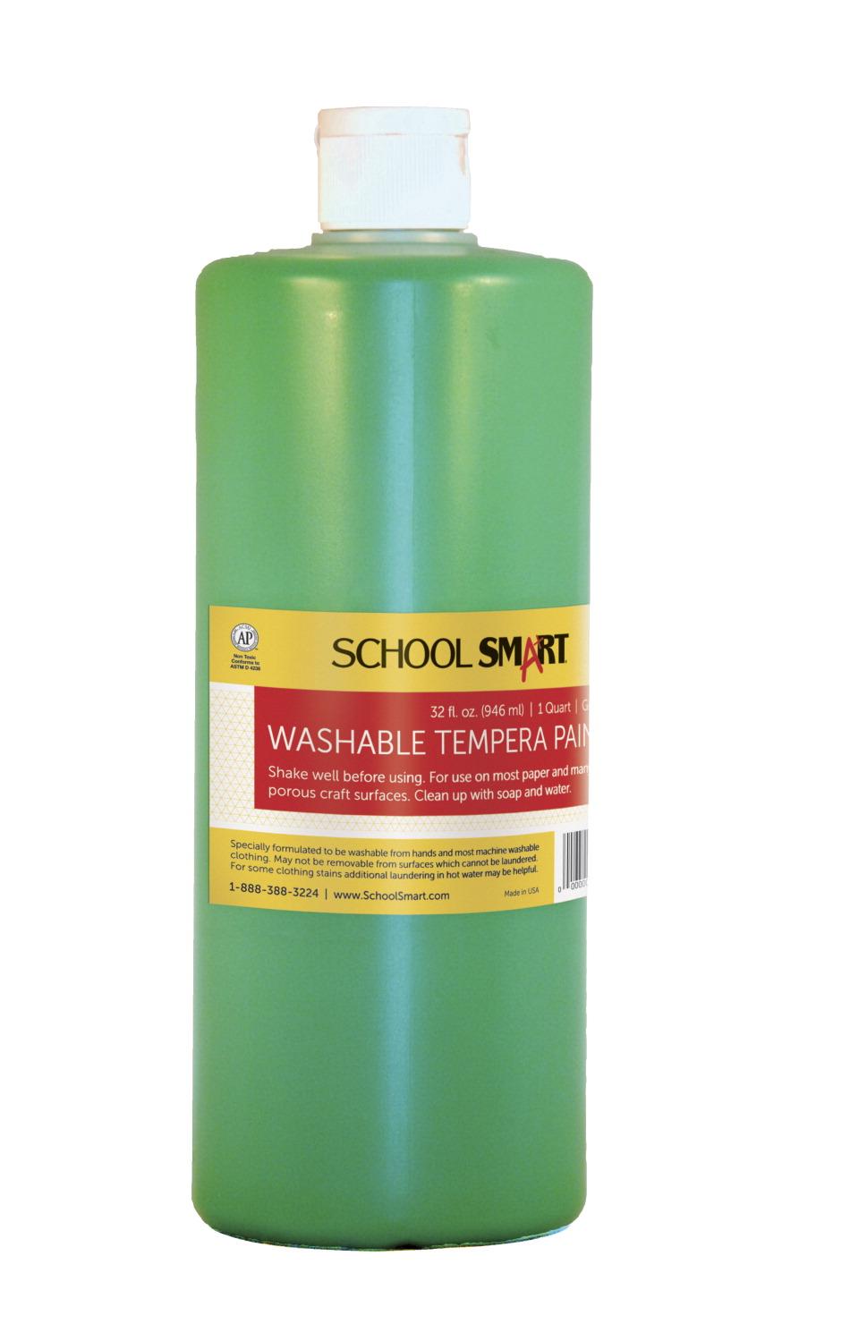 school smart tempera paint green school specialty. Black Bedroom Furniture Sets. Home Design Ideas