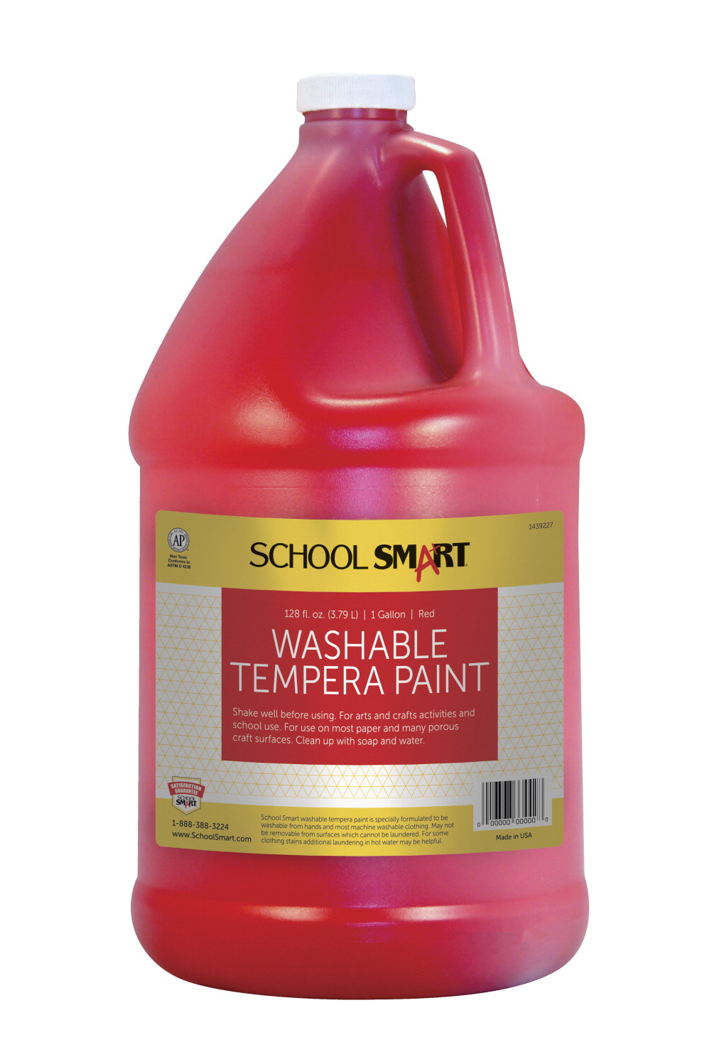 school smart tempera paint red school specialty marketplace. Black Bedroom Furniture Sets. Home Design Ideas