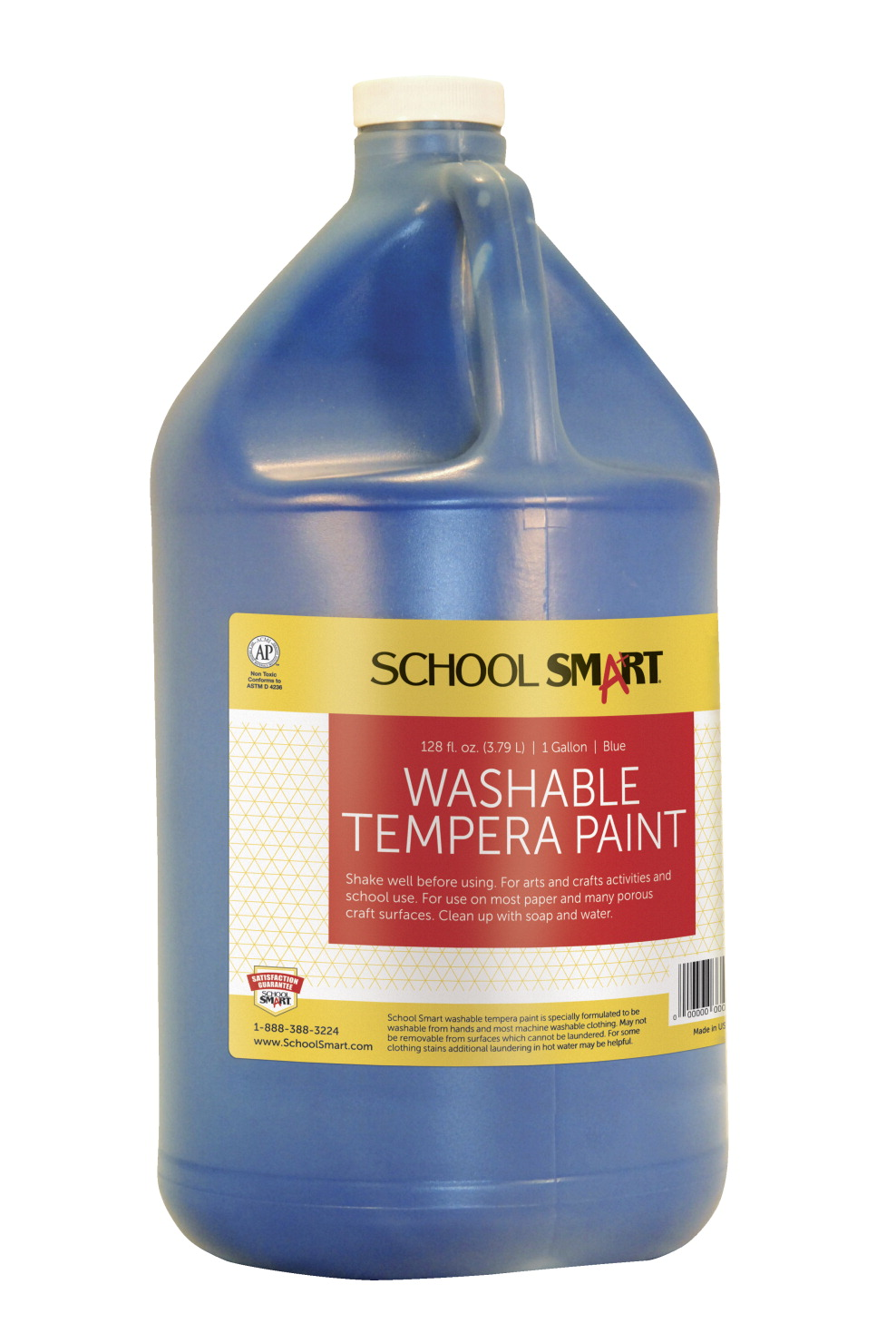school smart tempera paint blue school specialty. Black Bedroom Furniture Sets. Home Design Ideas