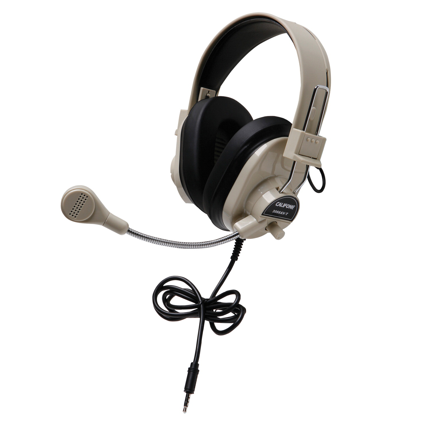 Califone 3066AVT Deluxe Multimedia Stereo Headset with 3.5mm Plug