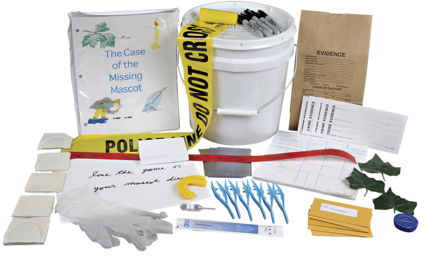 Forensic Science Kit School Specialty Canada