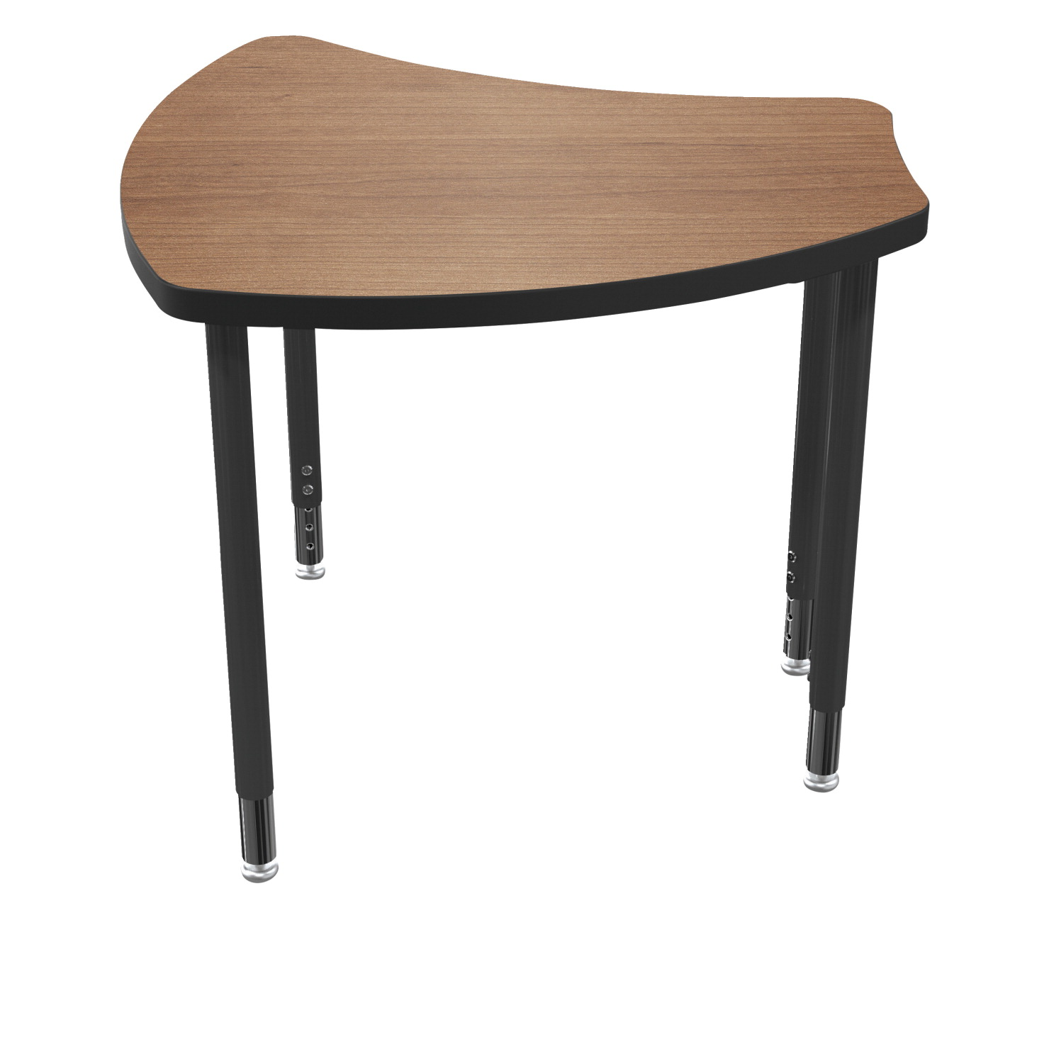 Balt Small Shapes Laminate Top Desk, 27-1/2 x 27-3/4 x 22 to 32 Inches, Various Options