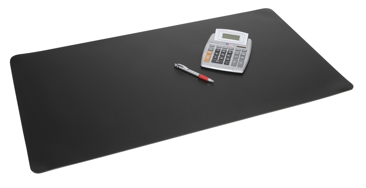 Artistic S Rhino Ii Pvc Protective Desk Pad With Microban Protection 20 X 36 In