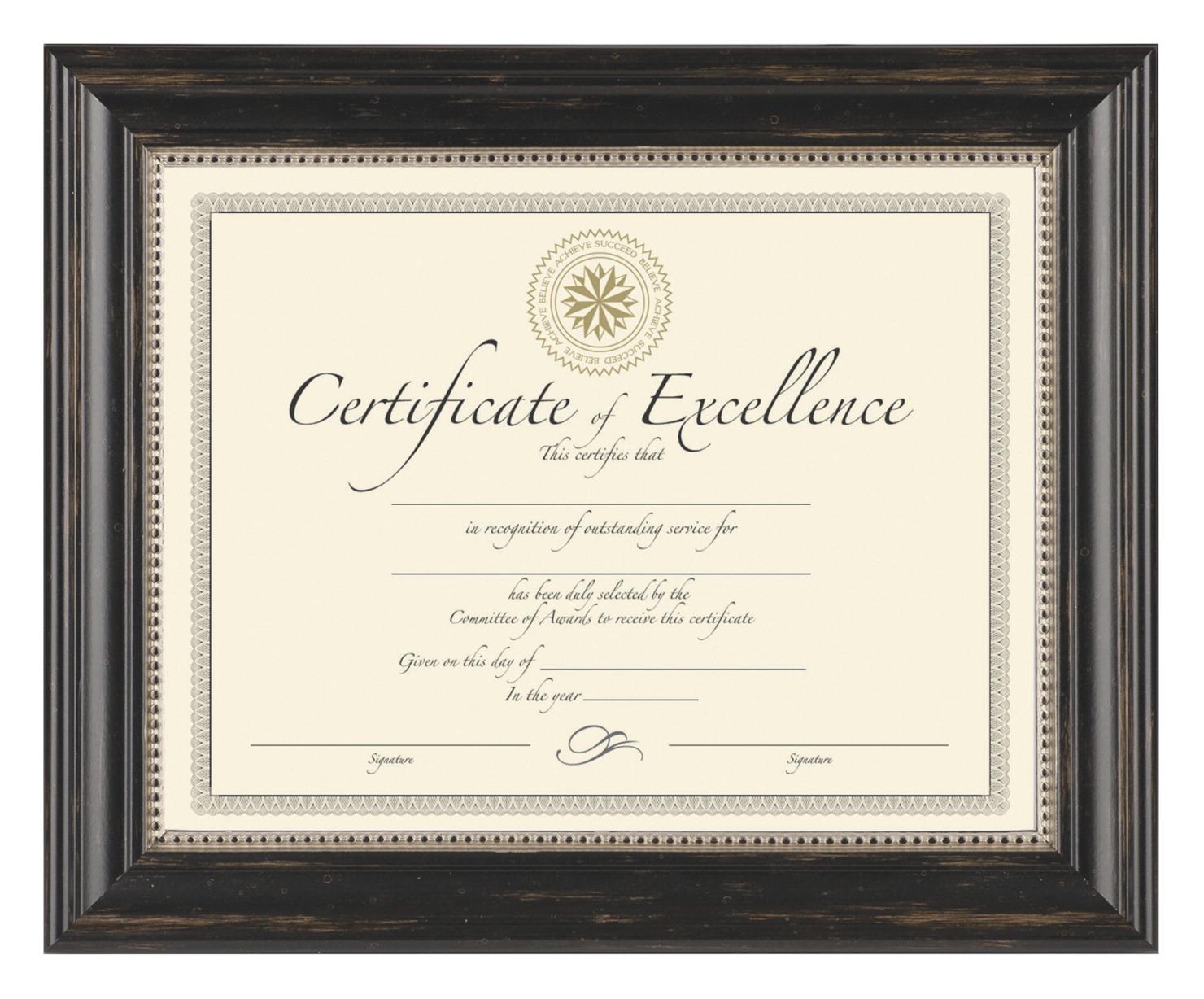 Genova Certificate Frame - SOAR Life Products