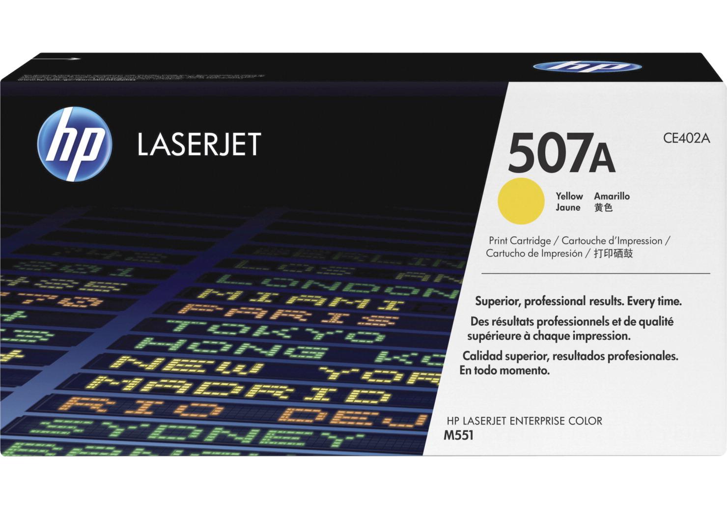 Hp original reliable toner cartridge yellow school for Hp color laserjet cost per page