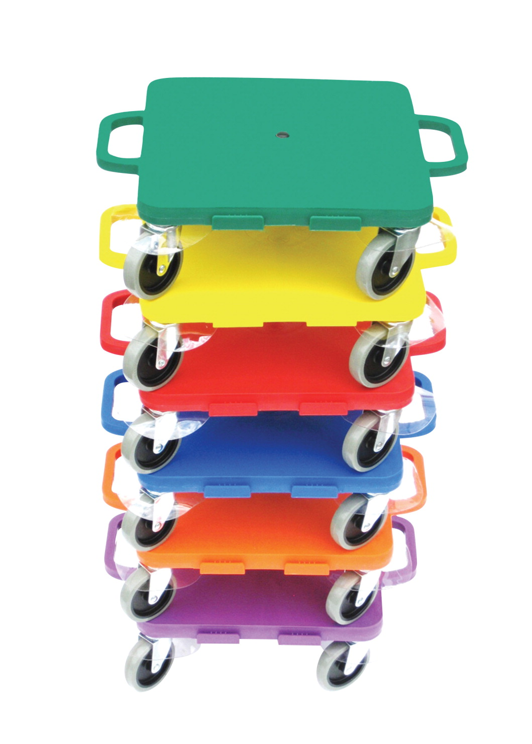 Pull-Buoy All-Surface Scooters, 16 Inches, Assorted Colors, Set of 6