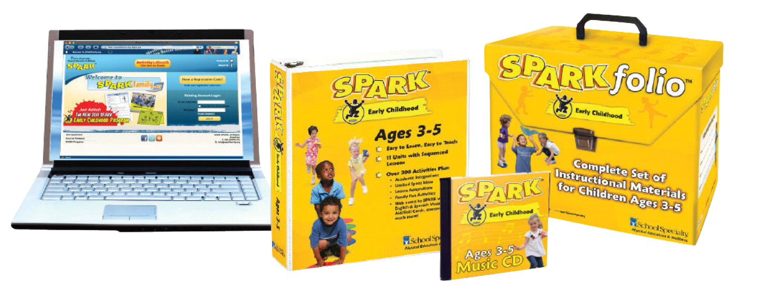 SPARK Early Childhood Curriculum Set 3