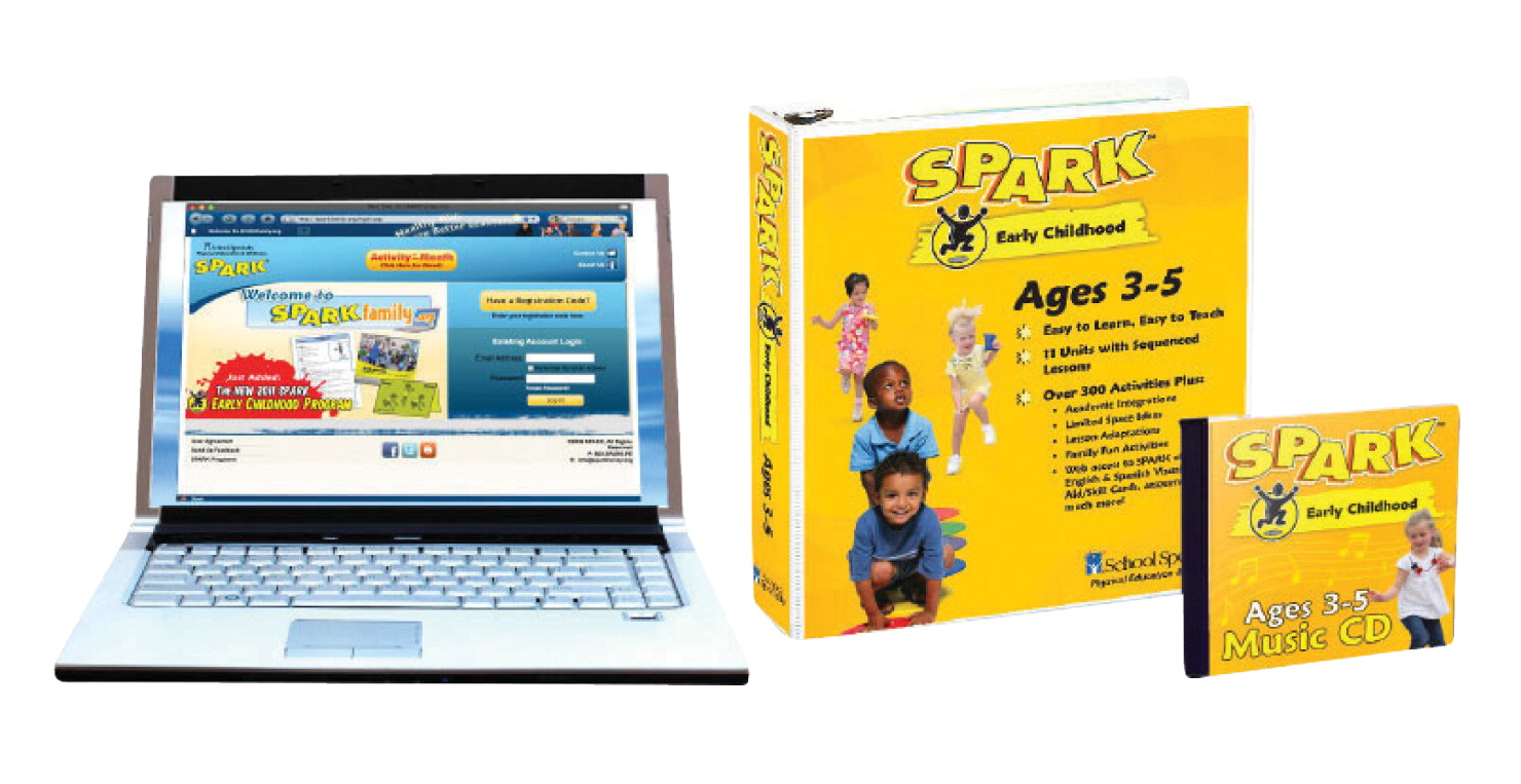 SPARK Early Childhood Curriculum Set 2, Ages 3 to 5