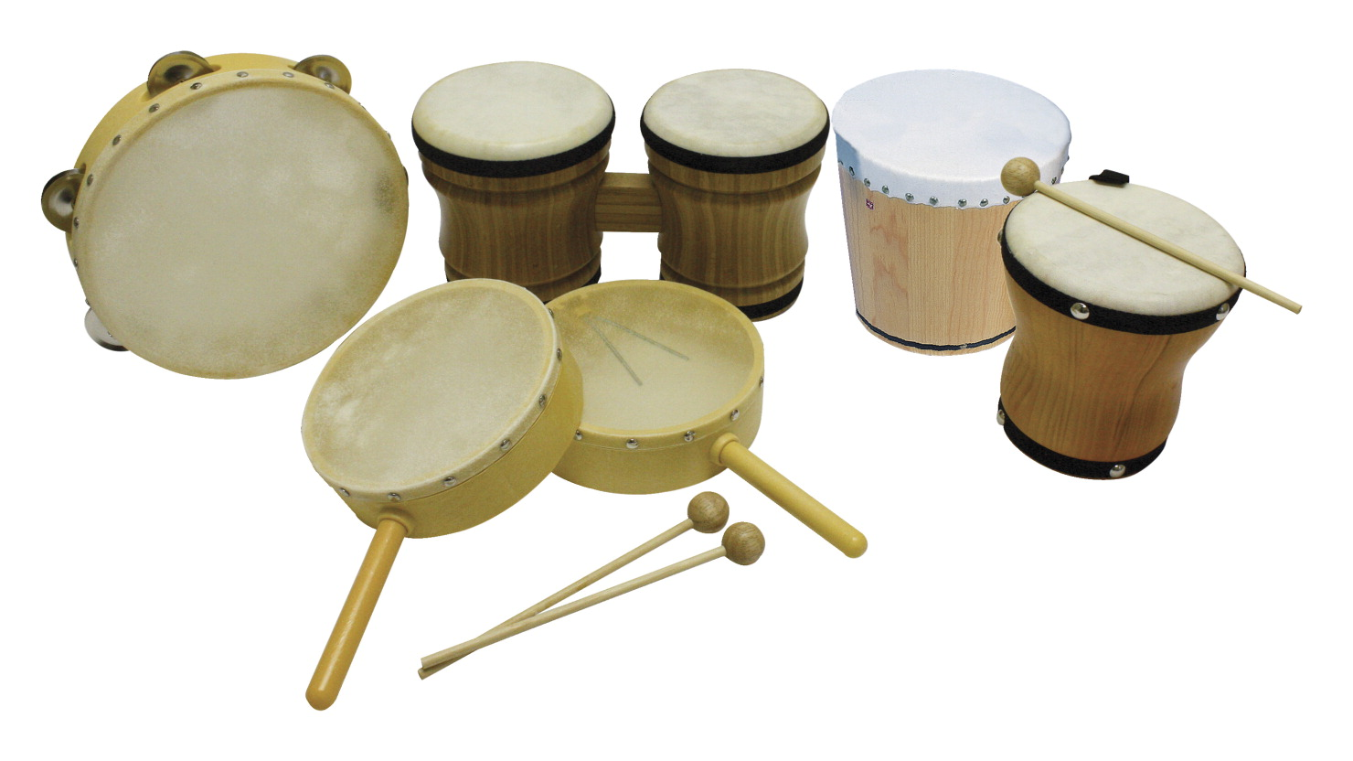 Rhythm Band Drums Instrument Kit
