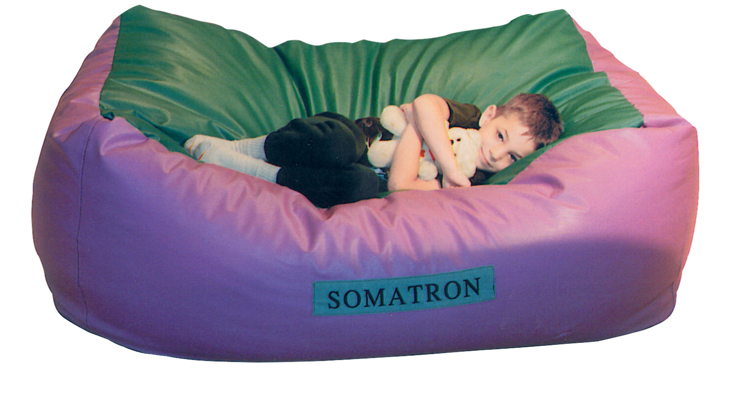 Somatron Body Pillow With Vibrations 60 X 36 24 In Leather Like Vinyl