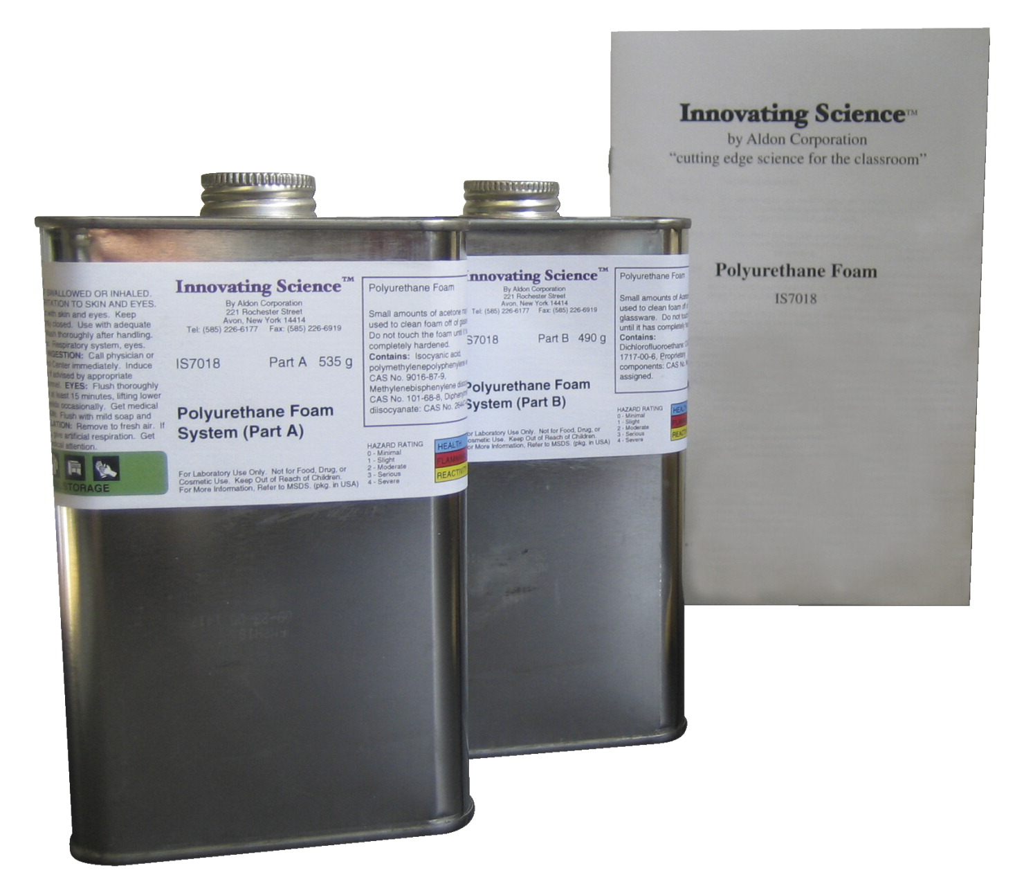 Innovating Science Polyurethane Foam Demonstration Kit