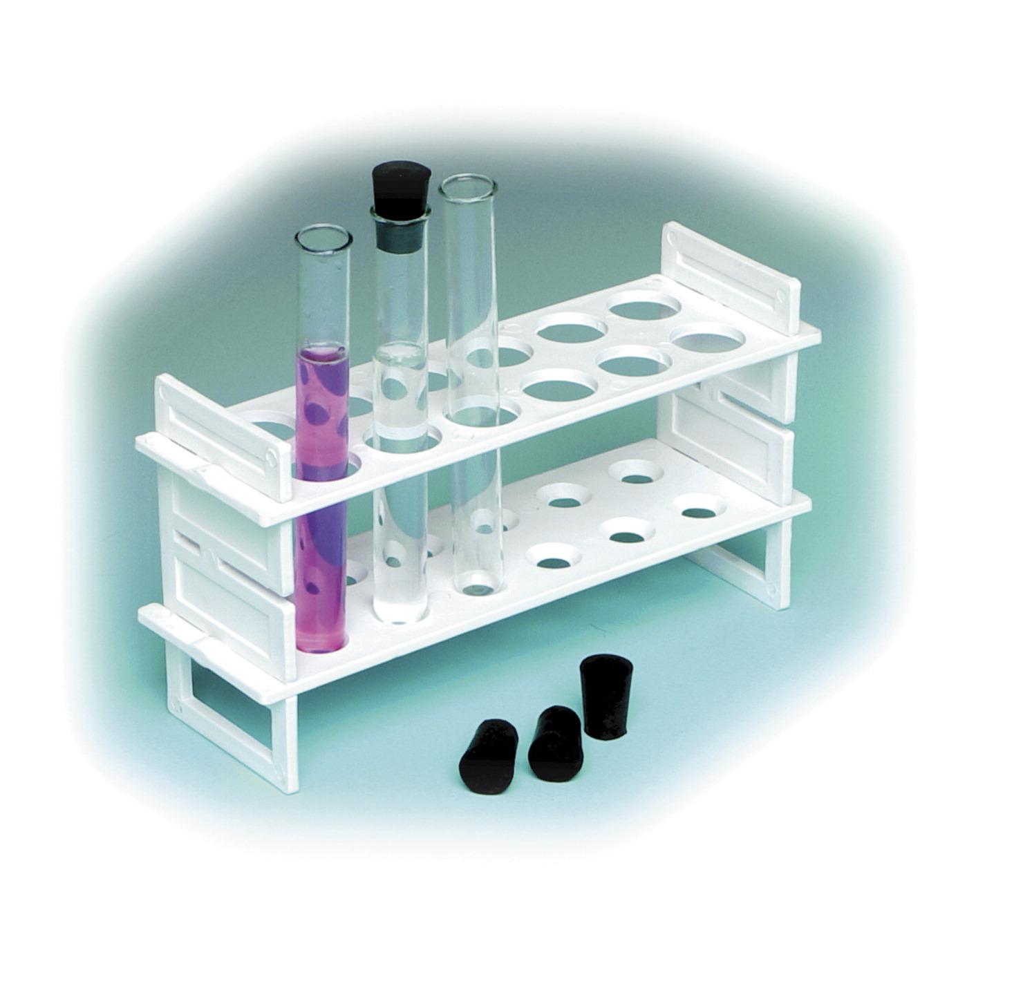 United Scientific Hydrometer and Test Tube Rack