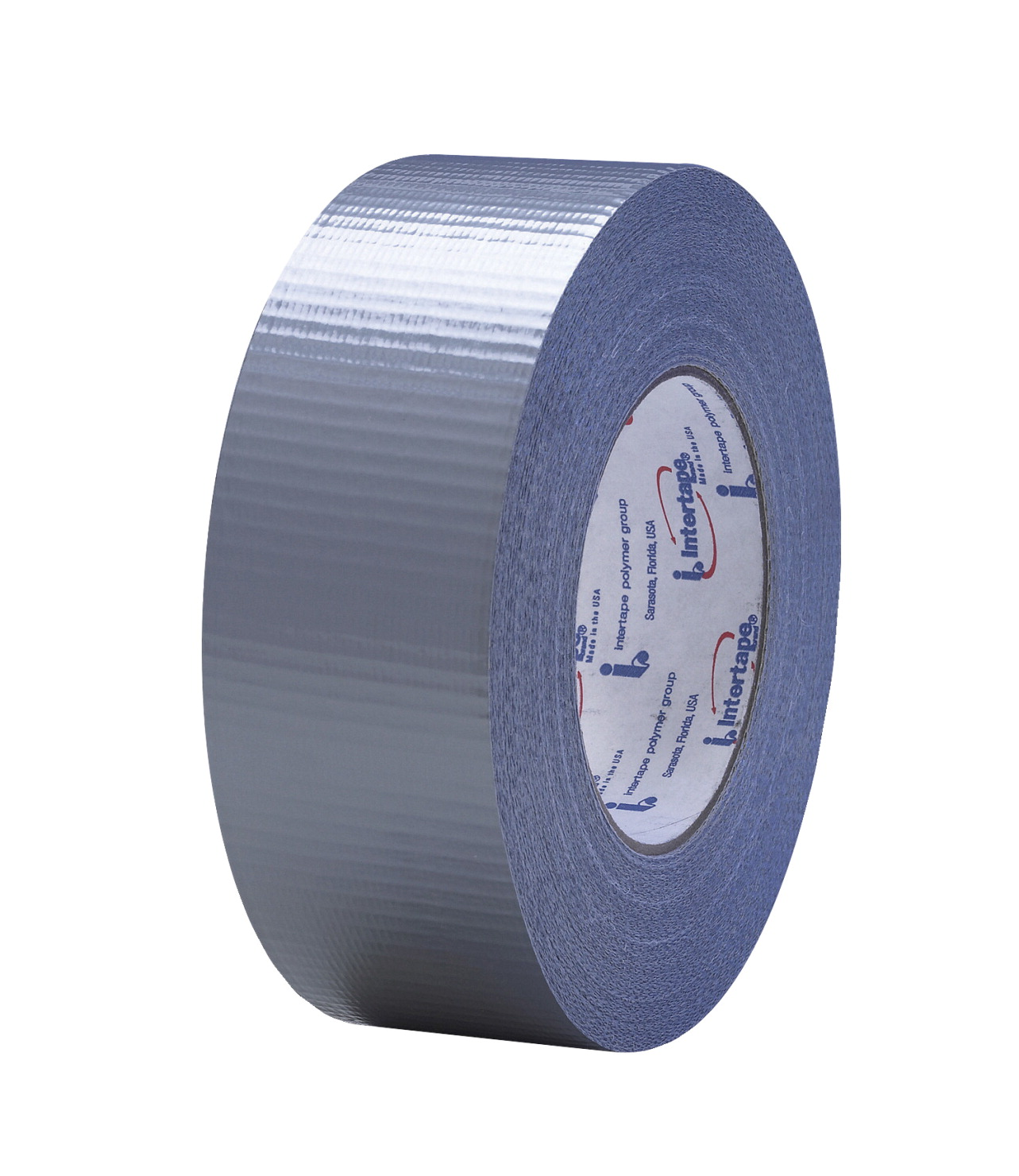 Intertape Polymer Natural Rubber/Resin Adhesive All Purpose Tear-Resistant Water Resistant Duct Tape, 48 mm X 54.8 m, Silver