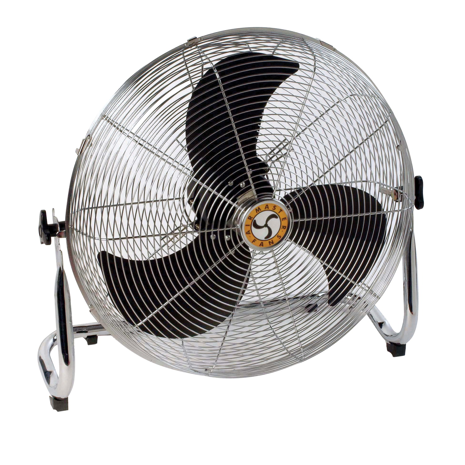 Chelsea Fans Industrial Pivot Fan with Workstation Low Stand, 4 in Dia, 3-Speed, 115 V, 10 ft Cord