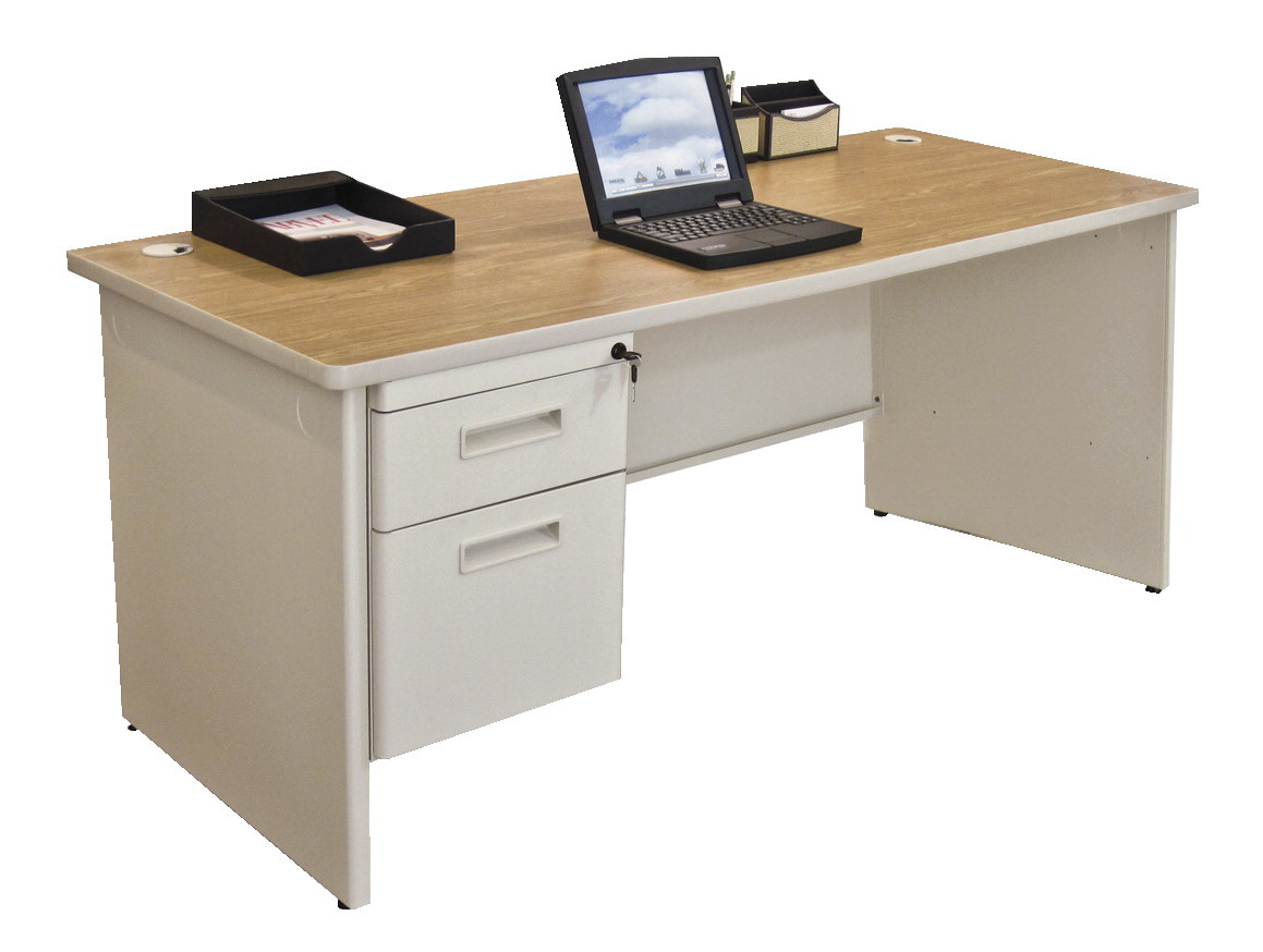 Marvel To Single Pedestal Desk 60 X 30 29 Inches Various Options