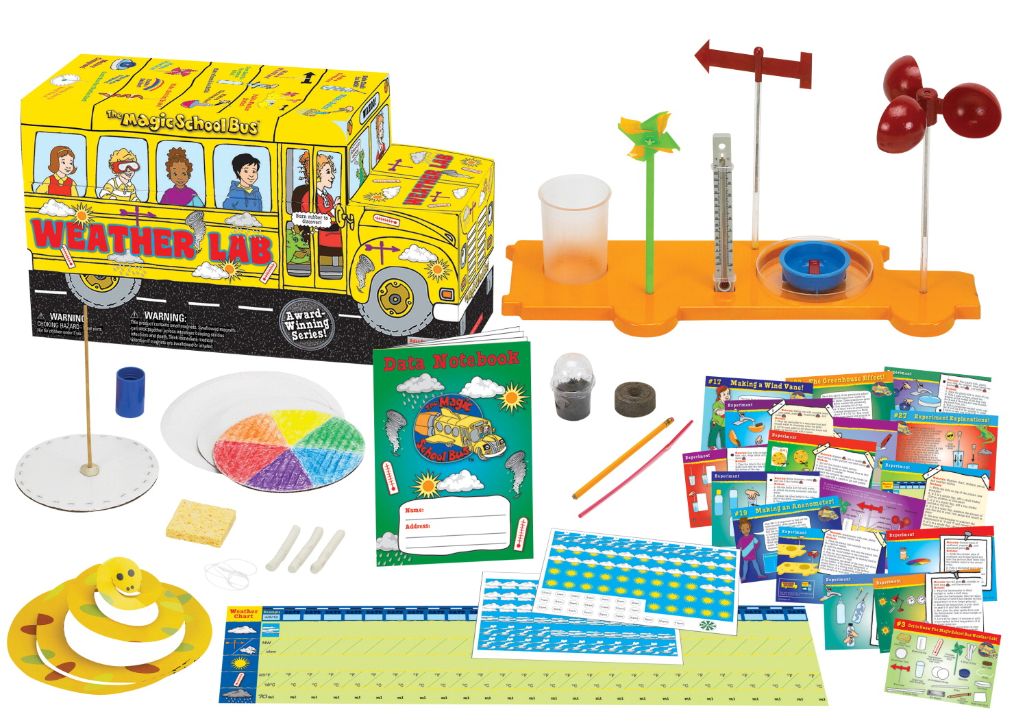 Young Scientists Club the Magic School Bus Weather Lab Science Kit, Age 3+