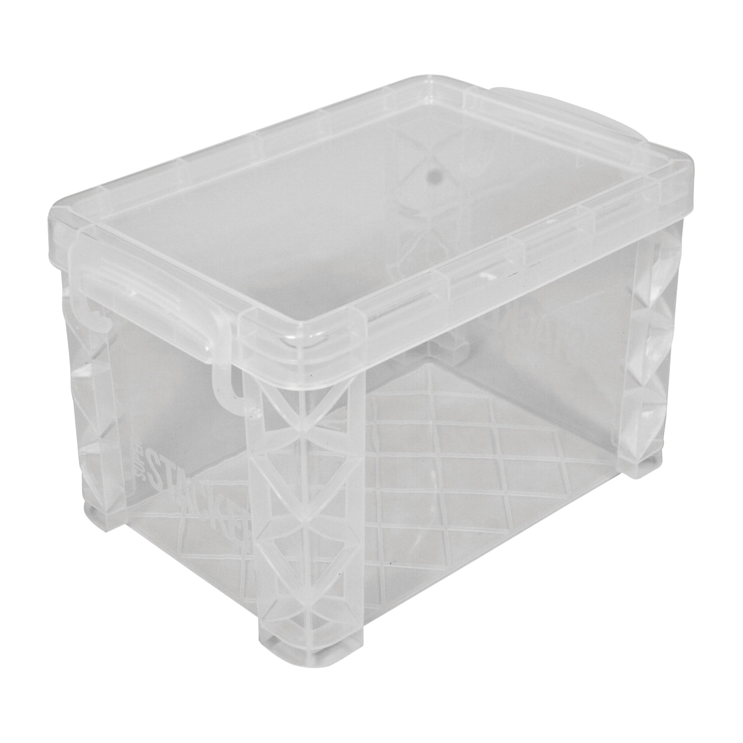advantus plastic file index card holder 4 x 6 inches clear - Index Card Holder