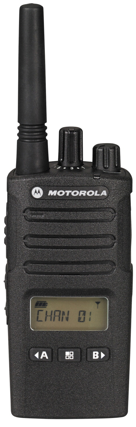 Motorola RMU2080D Two-Way UHF 2 W 8-Channel Radio for Business with Weather Band with 250000 sq ft Range