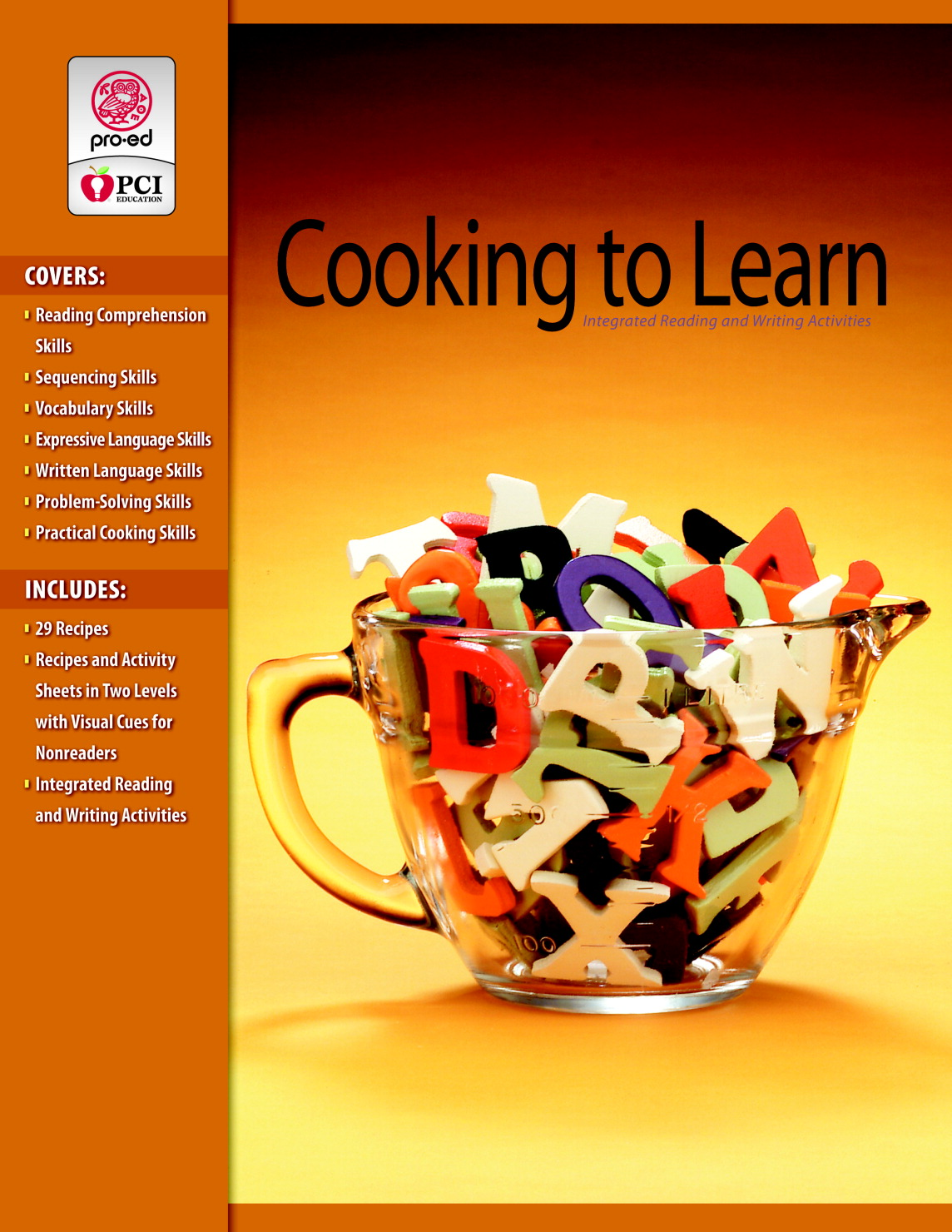 Cooking to learn binders