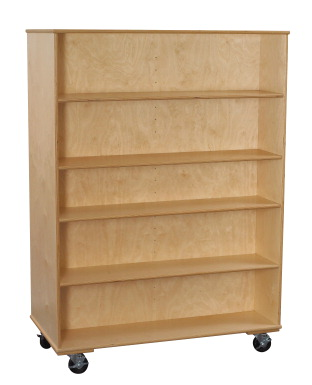Classroom Select Mobile Double Sided Adjustable Shelf Bookcase Classroom Direct