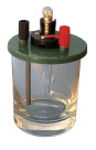 Frey Scientific Conductivity of Solutions Apparatus, 3 X 2-3/4 in, 7 oz, Glass Container, PVC Cover