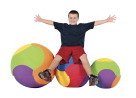 Therapy Balls, Large Inflatable Ball, Item Number 1328190