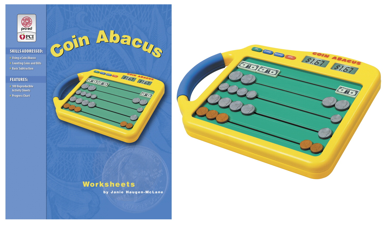 Coin Abacus and Worksheet - SCHOOL SPECIALTY MARKETPLACE