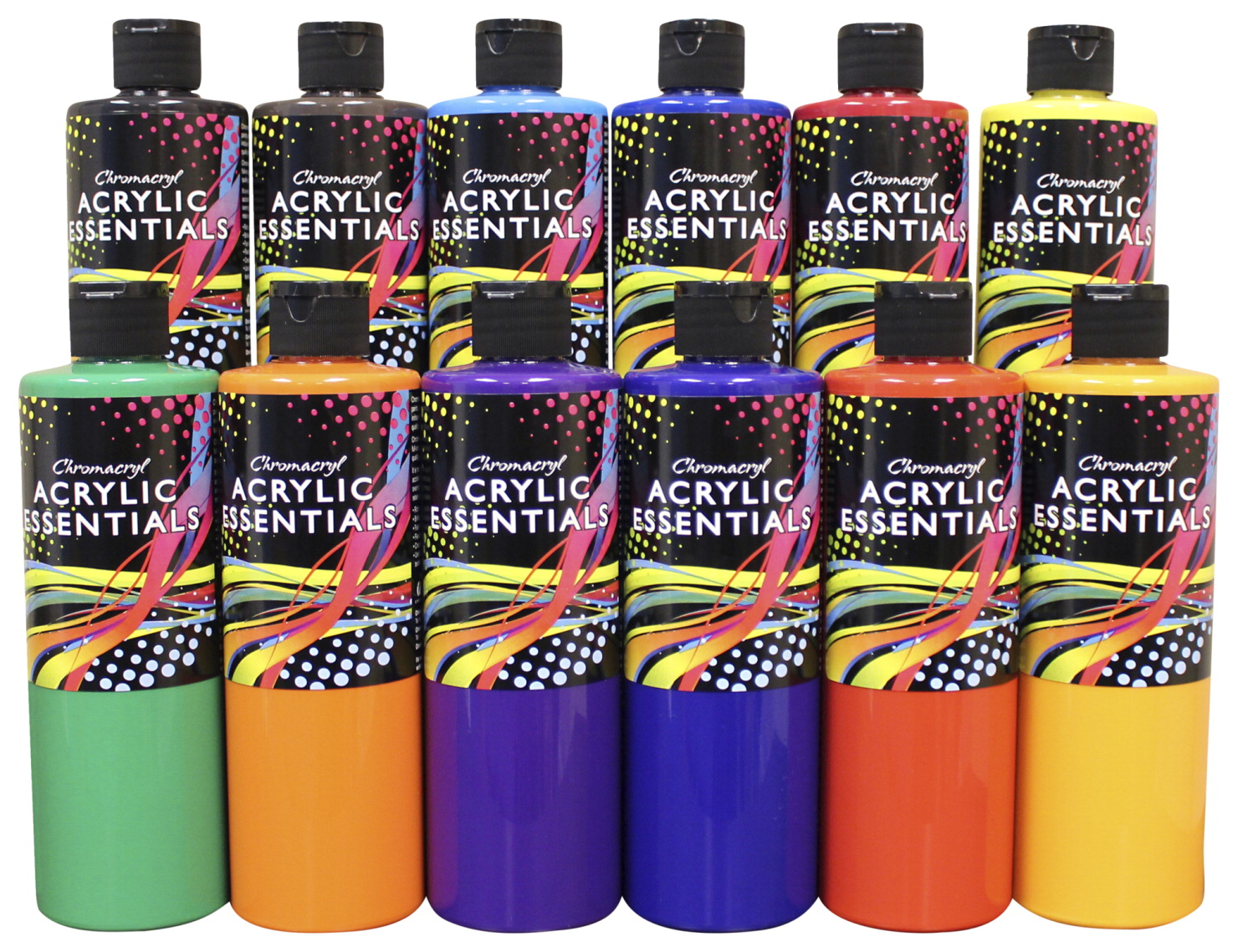 Acrylic essential set school specialty marketplace for Chroma acrylic mural paint review