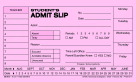 School & Hall Passes and Tardy Slips, Item Number 1481872