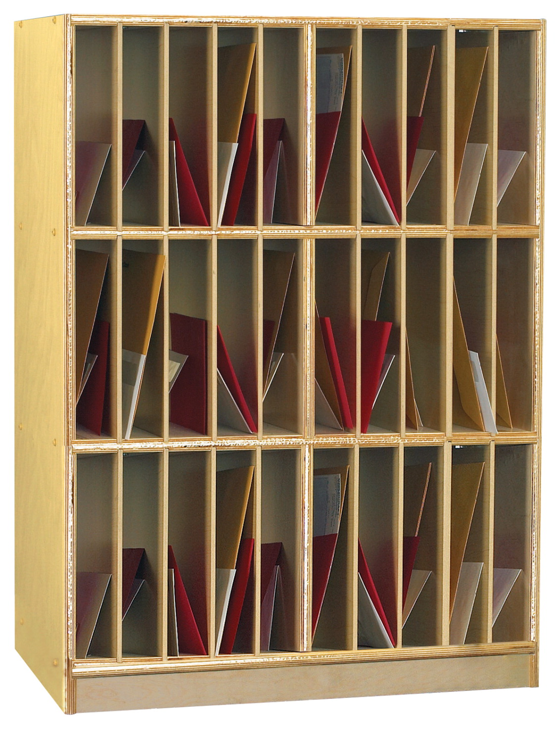 Childcraft Vertical Mailbox Unit 30 Compartments School