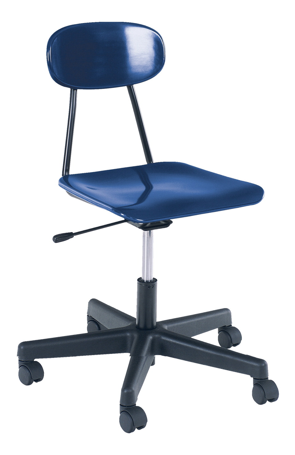 Royal Seating 4100 Pneumatic Lift Chair with Casters, 17-3/4 to 22-1/4 Inch Seat , Various Options