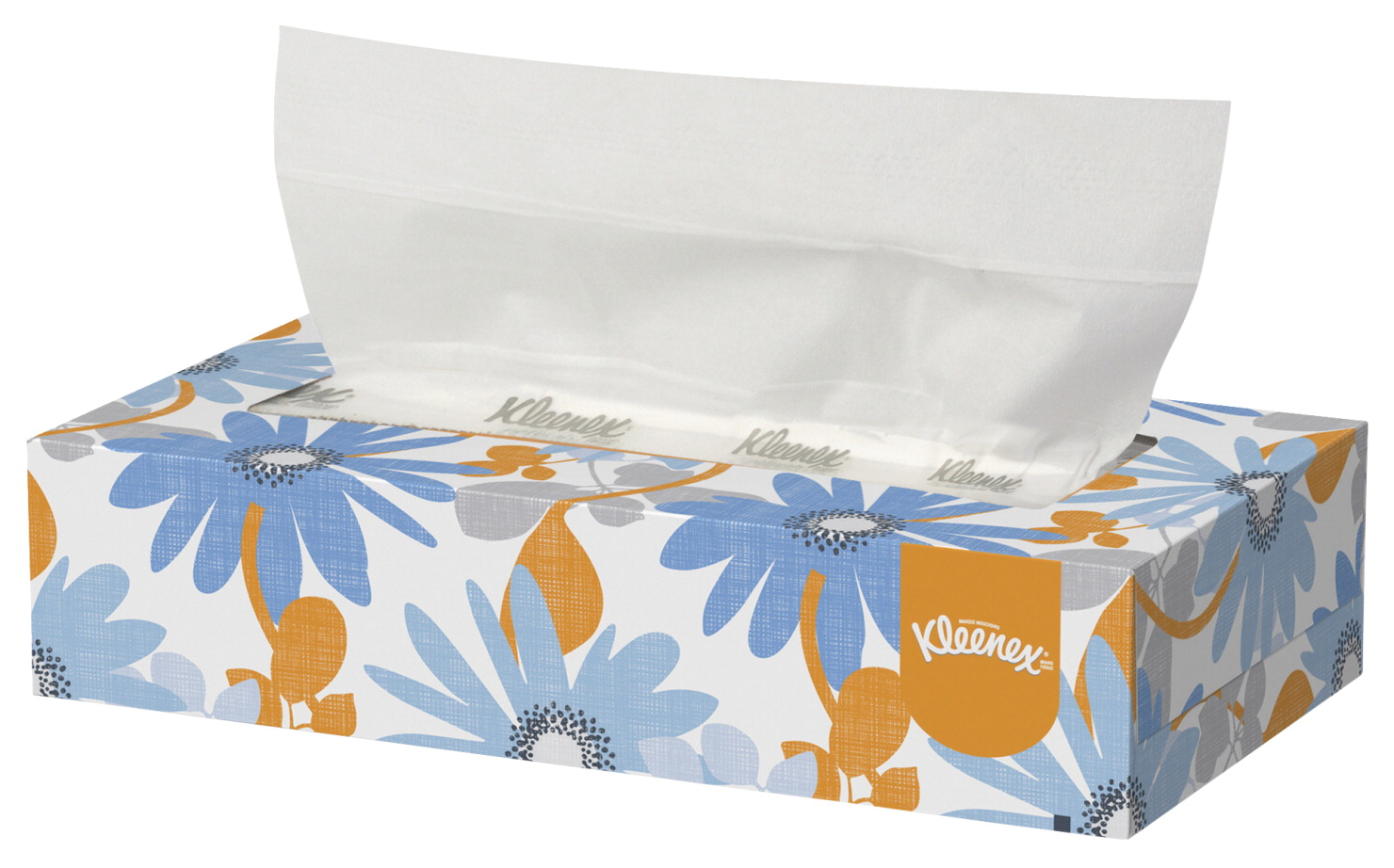 Kleenex Facial Tissue With Pop-Up Dispenser