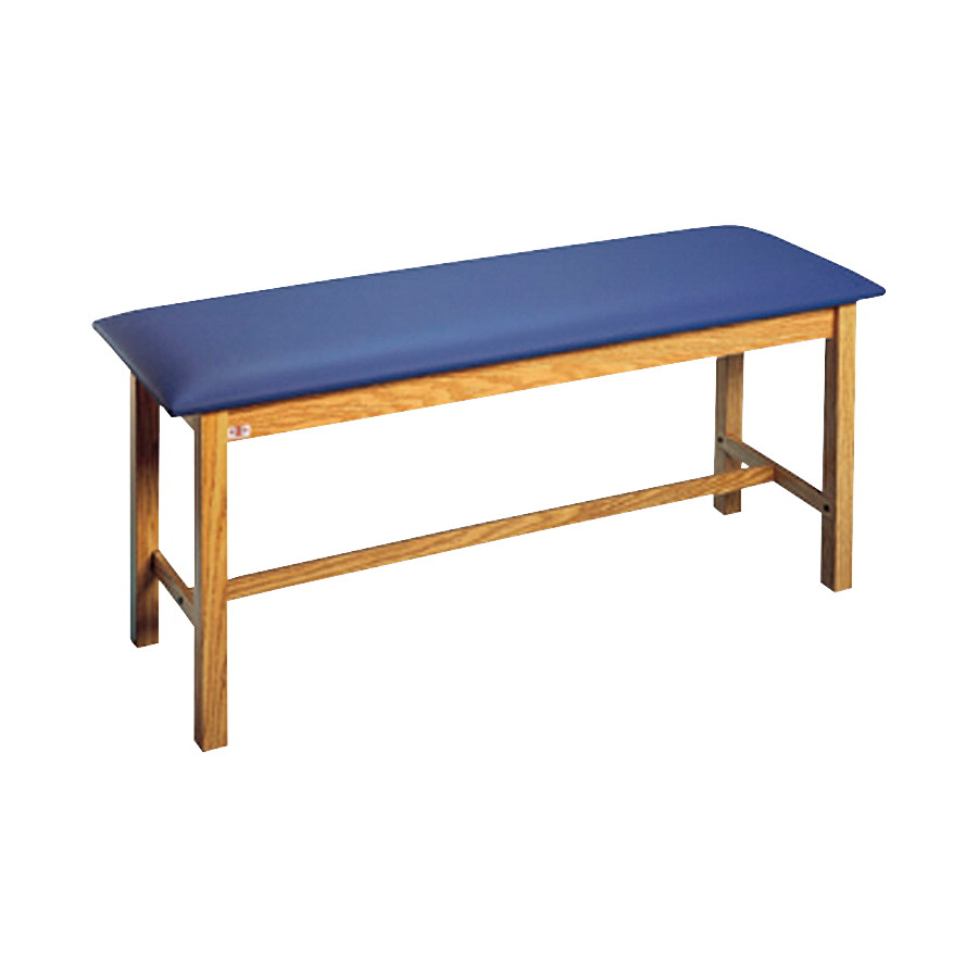 Hausmann latex free vinyl upholstery exam table 72 x 27 x for Table in latex