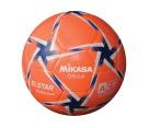 Mikasa No 4 SE Series Soccer Ball, Orange/White/Blue