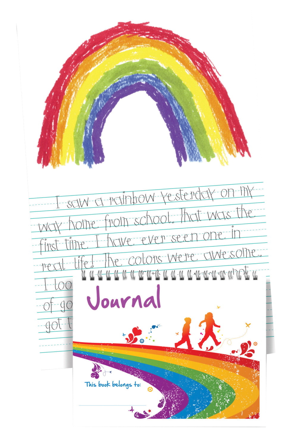 Hammond & Stephens Primary Writing Journal, 8-1/2 x 11 Inches, 96 Pages