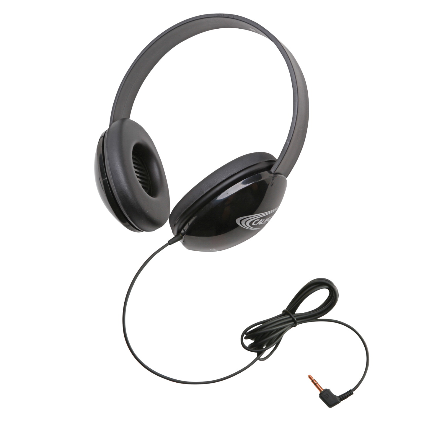 Califone Listening First Stereo Headphones, Black
