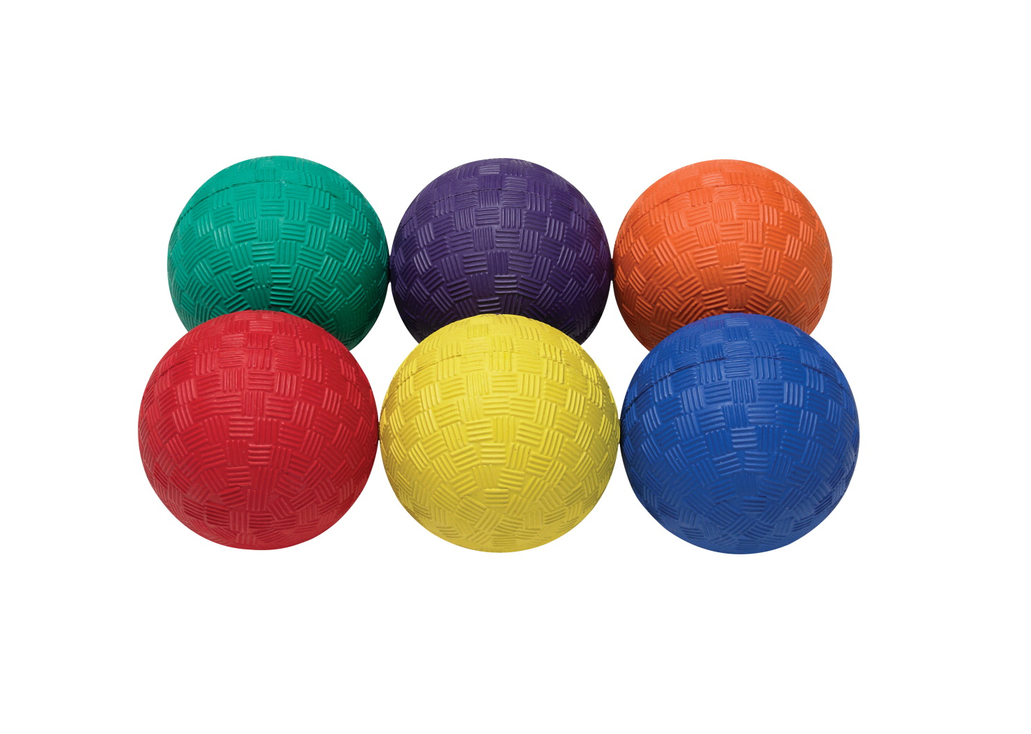 Sportime 2-1/2 in Smallest Playground Balls, Set of 6