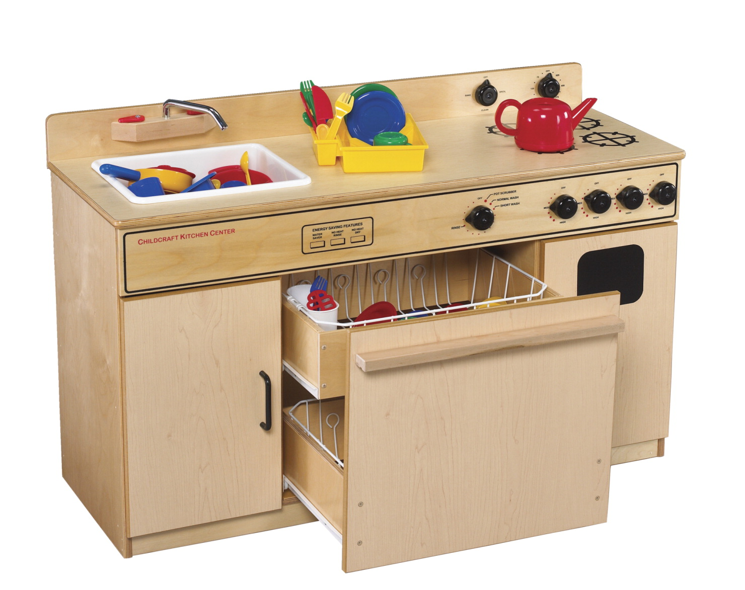 Childcraft All In One Kitchen Center 43 1 2 X 16 1 4 X 27 3 4 Inches