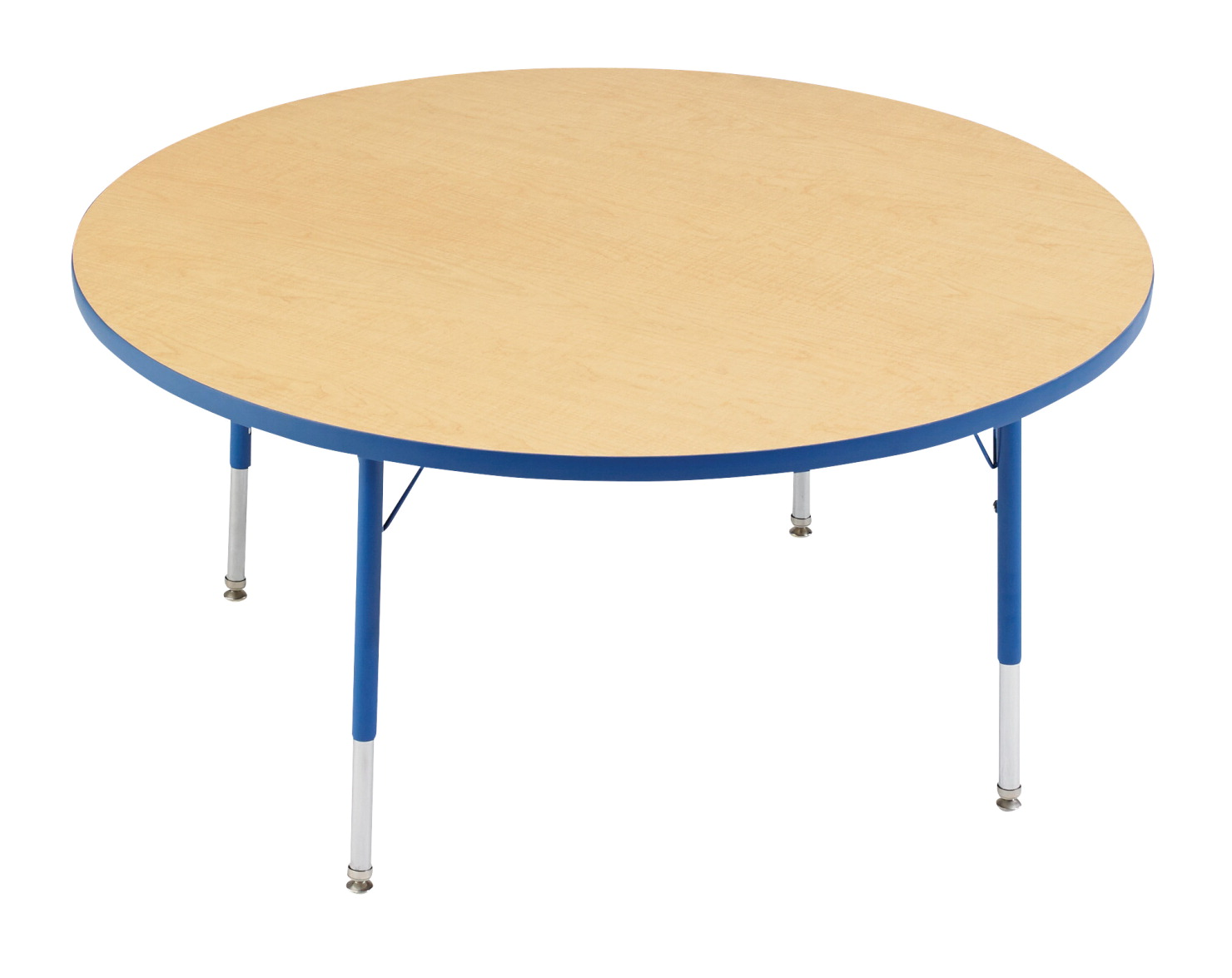 Classroom Select T-Mold Activity Table, Round, Adjustable Height, 48 Inches, Various Options
