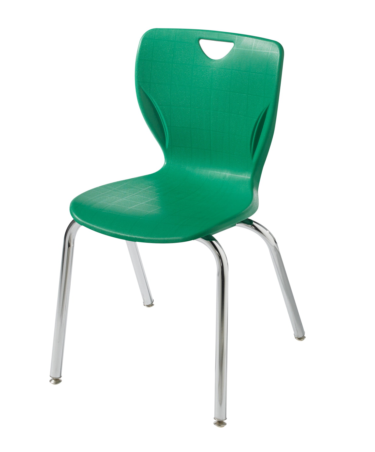 Classroom Select Contemporary Chair, 10 Inch Seat Height, Chrome Frame, Various Options
