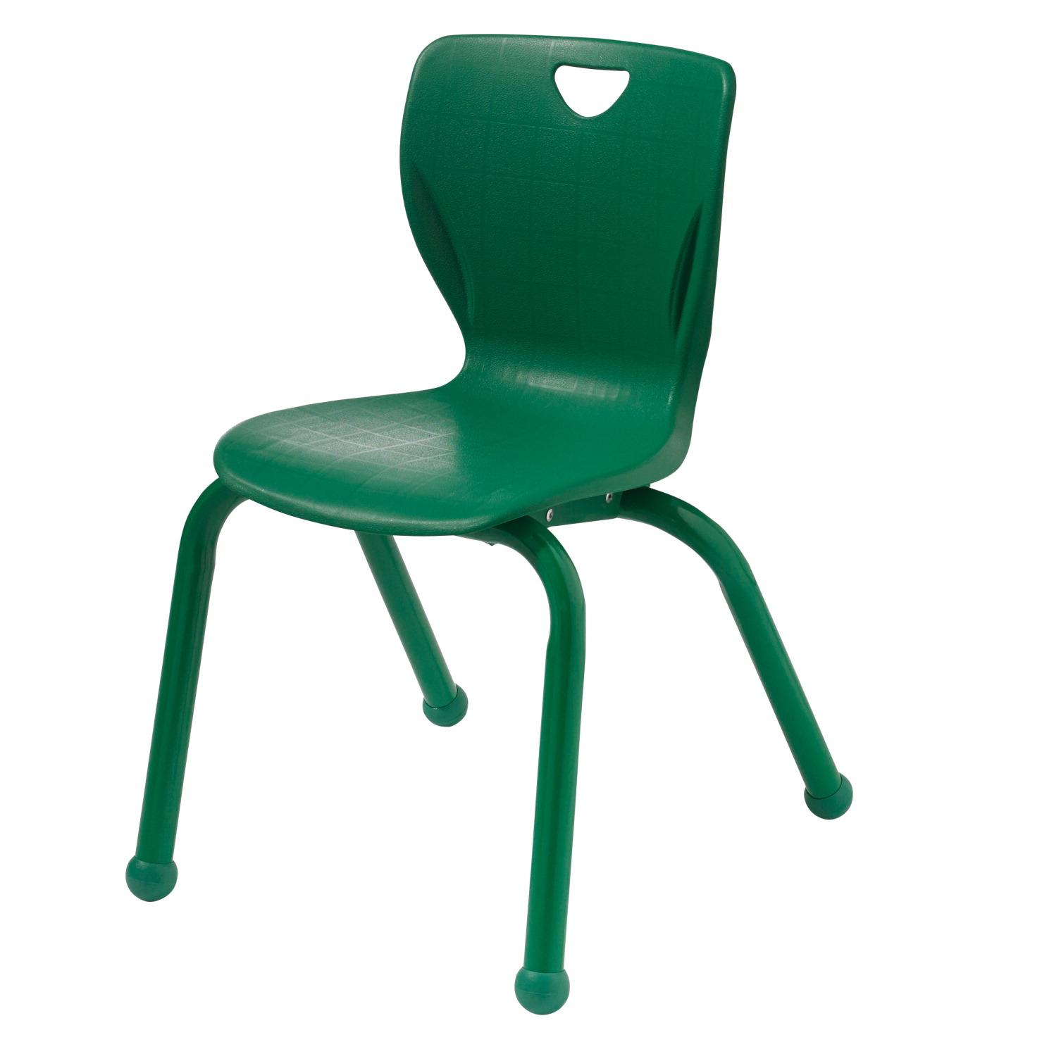 Classroom Select Contemporary Chair with Ball Glides, 16 in Seat Height, Matching Frame